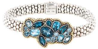 Lagos Topaz Ombré Caviar Bracelet