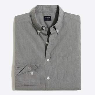 Mercantile Classic tall slim-fit flex heather washed shirt
