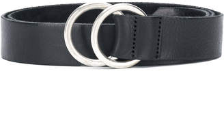 Closed double-ring belt