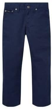 Ralph Lauren Childrenswear Little Boy's Kid's Varick Slim-Fit Cotton Pants