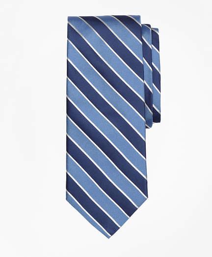 Brooks Brothers Framed Alternating Stripe Tie
