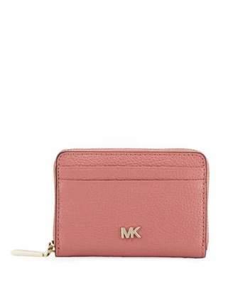 MICHAEL Michael Kors Money Pieces Leather Zip-Around Coin Purse/Card Case