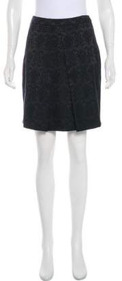 Tahari Jacquard Mini Skirt