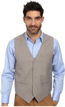 Perry Ellis Slim Fit Travel Luxe Stripe Suit Vest $79.50 thestylecure.com