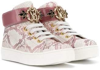 Roberto Cavalli hi-top sneakers