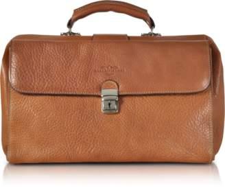 Robe Di Firenze Brown Medium Genuine Italian Leather Doctor Bag