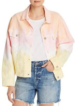 Sunset & Spring Ombré Tie Dye Jacket - 100% Exclusive
