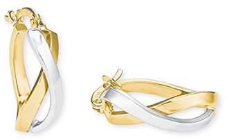 Amor Women Yellow Gold Hoop Earrings - 2020253