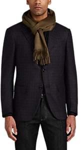 Barneys New York Men's Cashmere Scarf - Lt. brown