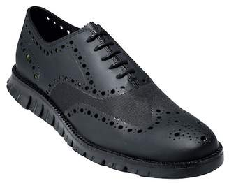 Cole Haan ZeroGrand Wingtip Oxford - Wide Width Available $250 thestylecure.com
