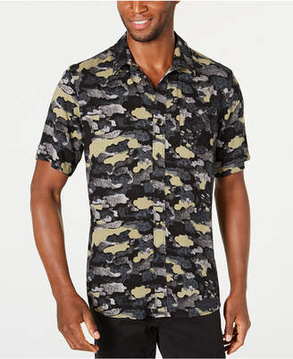 American Rag Men Cloudy Camo Shirt