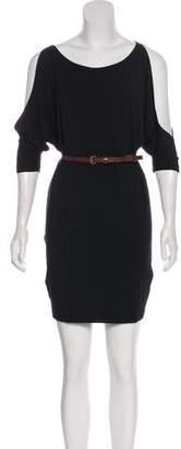 Tart Cold-Shoulder Mini Dress