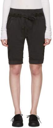 Haider Ackermann Grey Perth Lounge Shorts