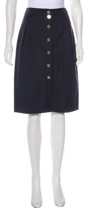 Dolce & Gabbana Tonal Knee-Length Skirt