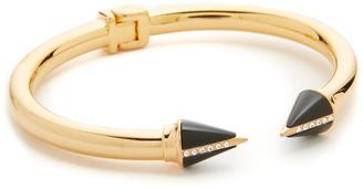 Vita Fede Mini Titan Stone Crystal Line Bracelet $595 thestylecure.com