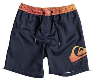 Quiksilver Lava Logo Volley Shorts