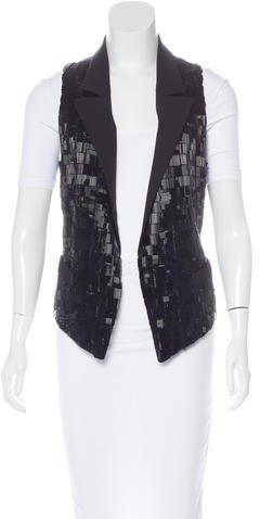 Alexander WangAlexander Wang Embellished Wool Vest
