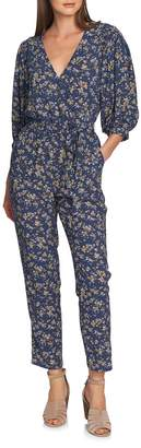 1 STATE 1.STATE Heritage Bouquet Wrap Tie Waist Pants