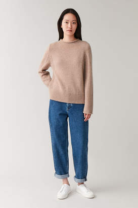 Cos WOOL-ALPACA KNITTED SWEATER