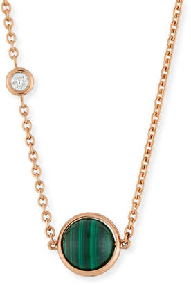 Piaget 18k Possession Malachite Pendant Necklace