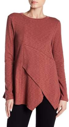 Doe & Rae Crossover Front Blouse