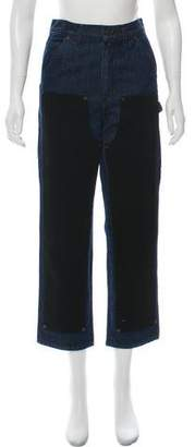 Opening Ceremony High-Rise Straight Jeans