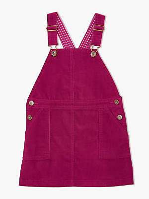 John Lewis & Partners Girls' Corduroy Pinafore Dress
