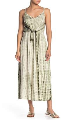 Vanity Room Tie-Dye Knotted Maxi Dress