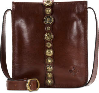 Patricia Nash Renaissance Coin Venezia Leather Crossbody
