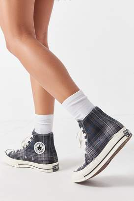 Converse Chuck 70 Plaid High Top Sneaker