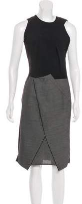 Roland Mouret Sleeveless Midi Dress