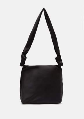 The Row Small Satin Wander Bag Black Shg