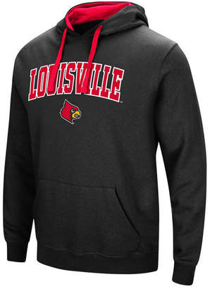 Colosseum Men's Louisville Cardinals Arch Logo Hoodie