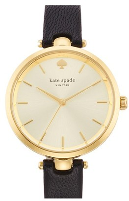 Women's Kate Spade New York 'Holland' Round Watch, 34Mm $195 thestylecure.com