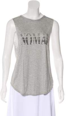 Haute Hippie Graphic Sleeveless T-Shirt w/ Tags