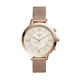 Fossil Q Jacqueline Rose Gold-Tone Hybrid Smartwatch