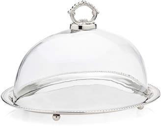 Godinger Oval Cake Tray & Dome
