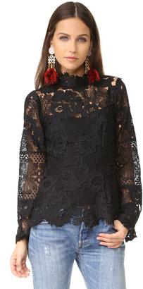 Nanette Lepore Bellissima Blouse $348 thestylecure.com