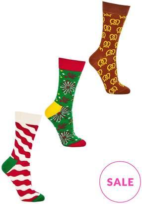Happy Socks Holiday 3-Pack Box- Multicolour