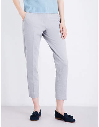 Max Mara Pegno slim-leg cropped trousers