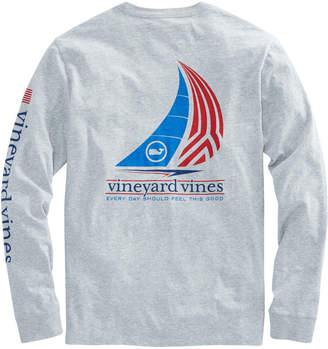 Vineyard Vines Long-Sleeve Sail Pocket T-Shirt