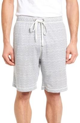 Men's Daniel Buchler Feeder Stripe Pima Cotton & Modal Lounge Shorts $68 thestylecure.com