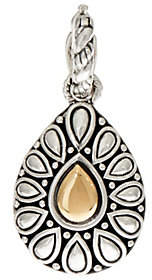 JAI Sterling Silver & 14K Gold Lotus PetalEnhancer