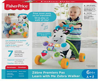 Fisher-Price Learn with Me Zebra Walker - French Version