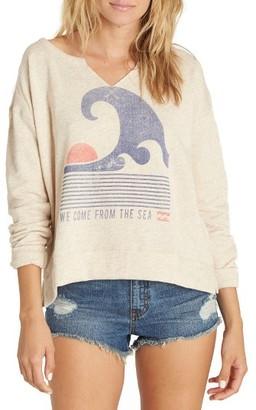 Women's Billabong Tidal Dream Fleece Pullover $44.95 thestylecure.com