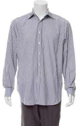 Etro Striped Dress Shirt