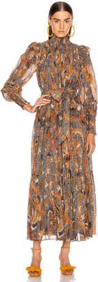 Ulla Johnson Constantine Dress in Amber   FWRD