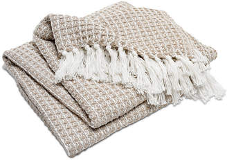 Hotel Collection Cotton Knit Throw