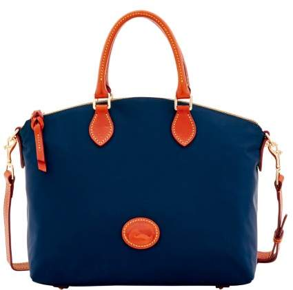 Dooney & Bourke Nylon Satchel - NAVY - STYLE