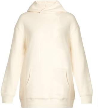 Raey Oversized Japanese-jersey hooded sweatshirt